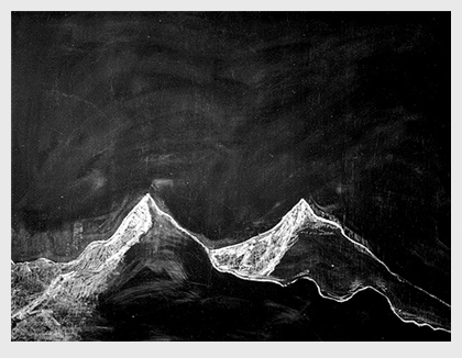 Silver gelatin print, 30 x 40 cm.